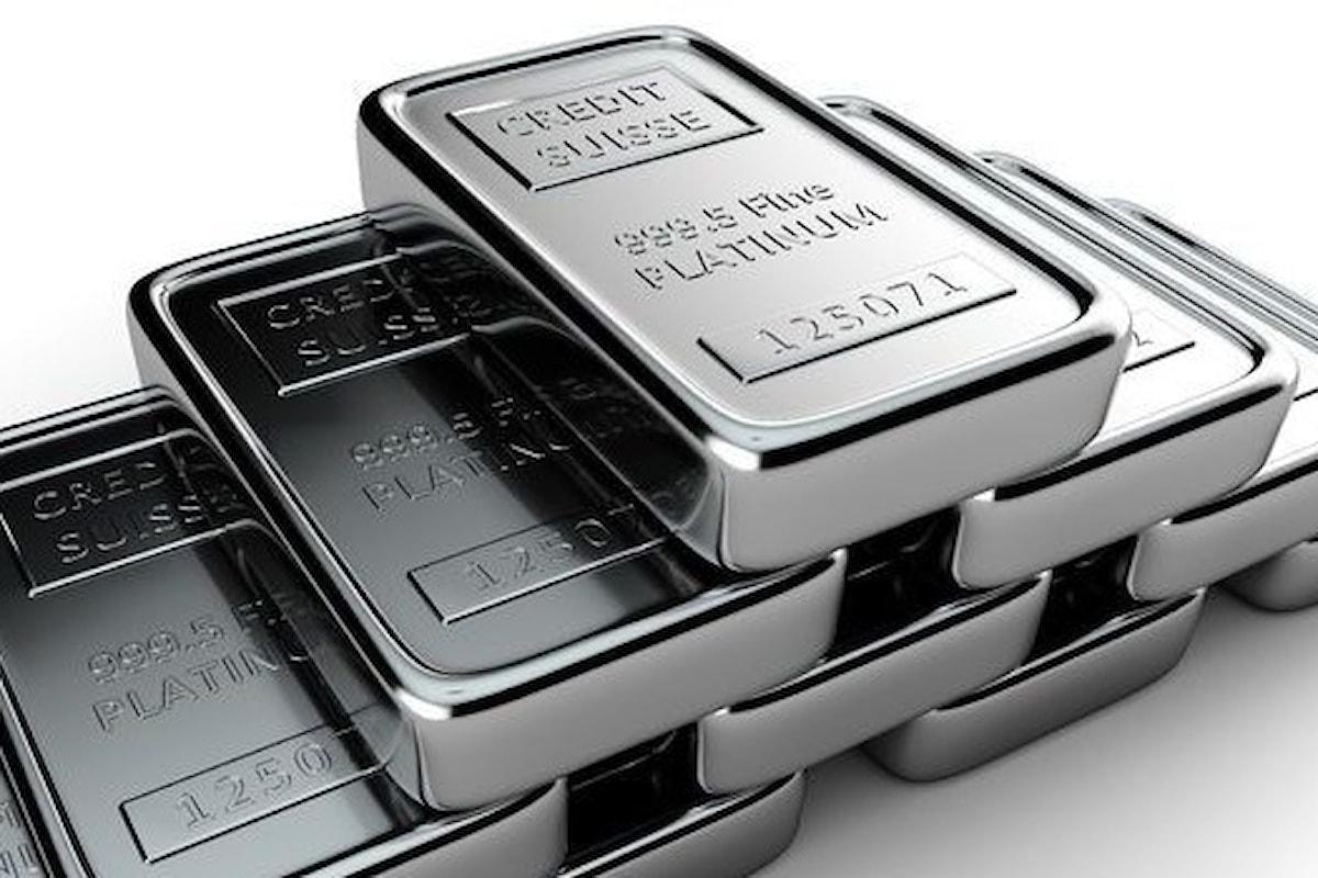 Mercati, il platino vuole fare concorrenza all'oro nella gioielleria