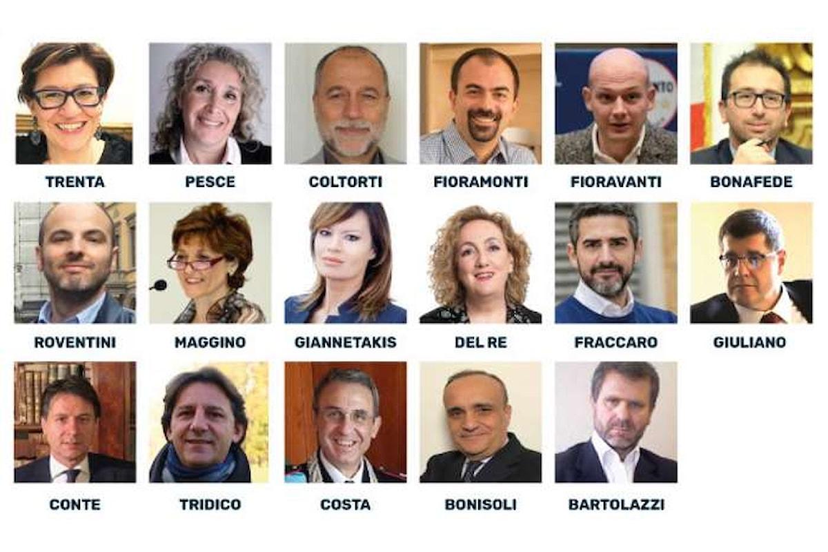 Ecco la lista dei 17 ministri a 5 Stelle che saranno guidati da Luigi Di Maio