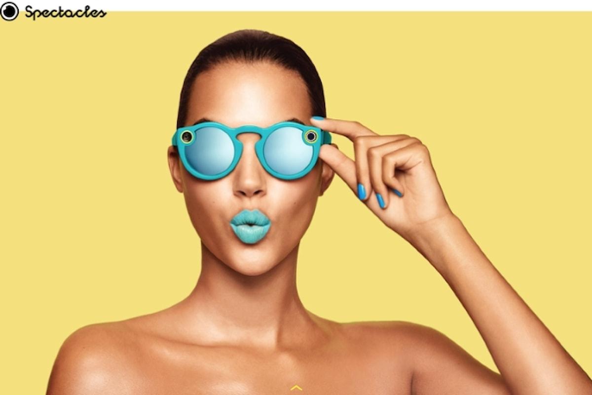 Snapchat cambia nome e lancia i video-occhiali