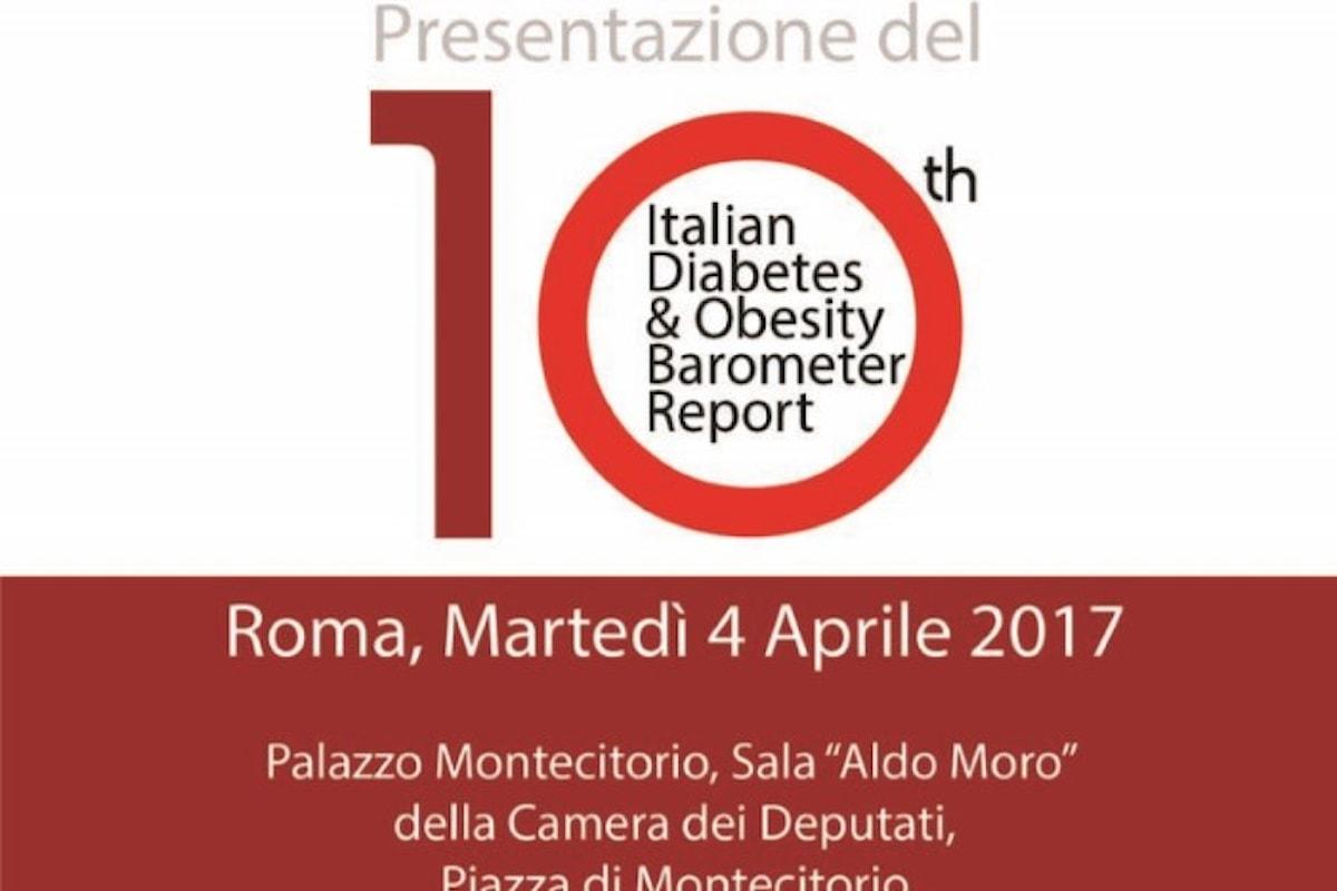 Obesità e diabete in Italia. Se ne discute il 4 aprile nella sala Moro di Montecitorio