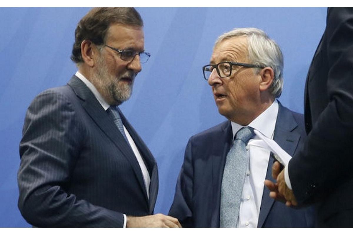 Adesso Rajoy si accorge che il Pil della Spagna a causa della crisi in Catalogna potrebbe ulteriormente scendere rispetto alle previsioni
