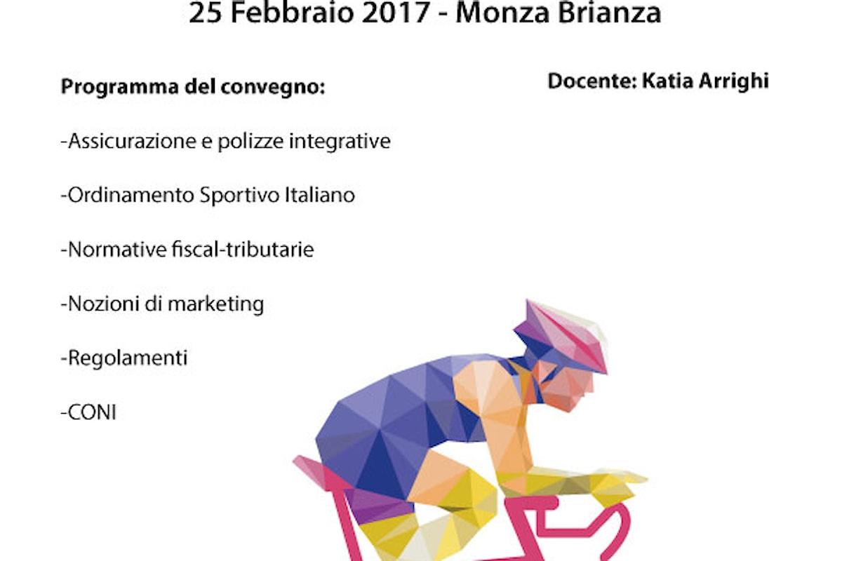 Convegno sulle normative fiscali in ambito sportivo, sabato 25 febbraio a in provincia di Monza Brianza