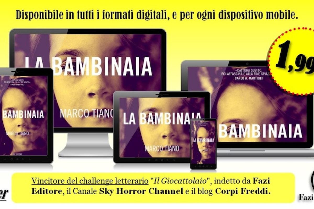 LA BAMBINAIA, un thriller di Marco Tiano edito da Fazi Editore