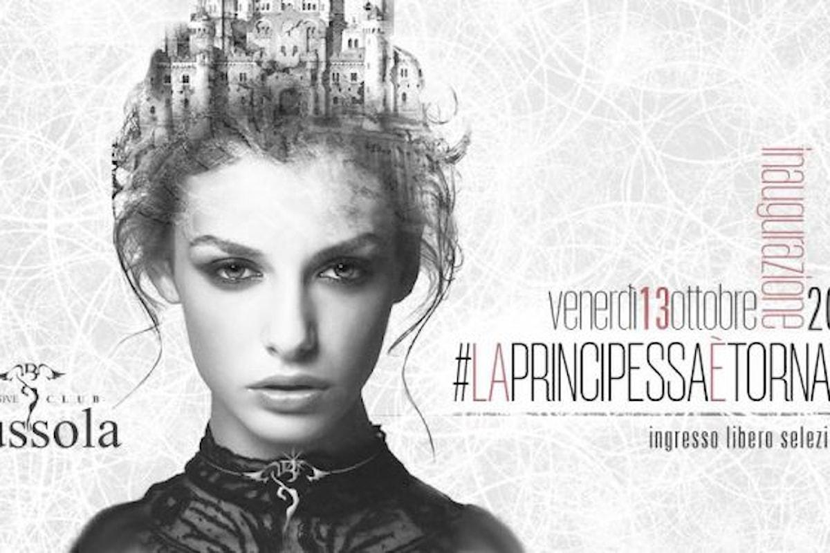 Inaugurazione del Venerdì d'Inverno per la discoteca Bussola Versilia il 13 ottobre