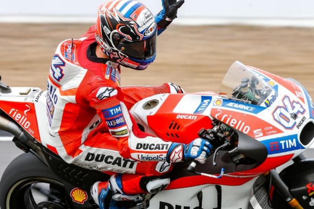 MotoGP 2017. Dovizioso vince a Silverstone e torna in testa al mondiale