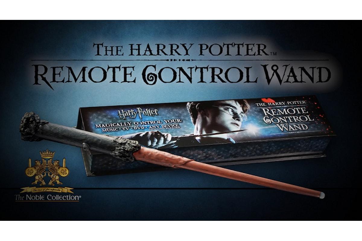 Siete pigri? Harry Potter può cambiarvi la vita - Remote Control Wand