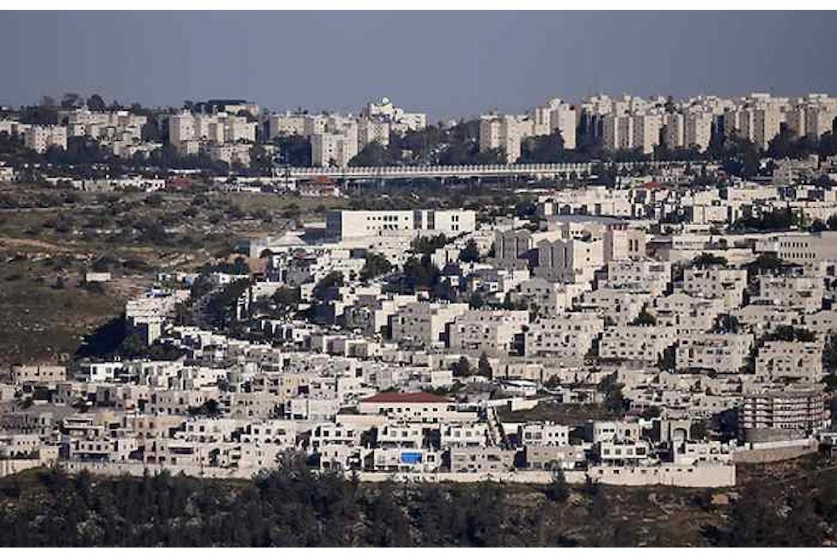 Israele approva 560 insediamenti nei territori occupati di Gerusalemme Est