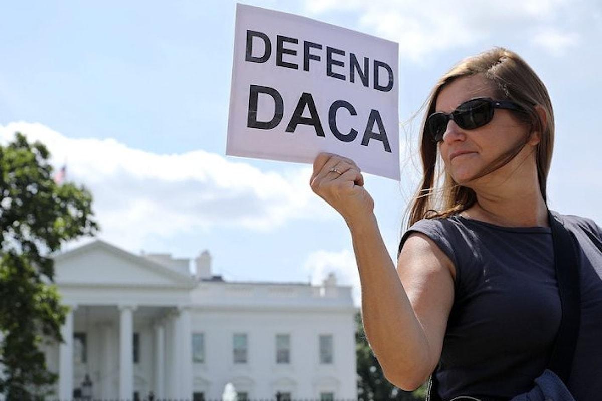 Trump ha detto di voler cancellare la DACA ed ha chiesto al Senato di trovare il modo per farlo