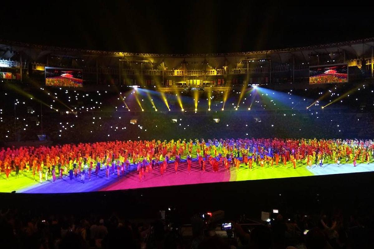 Immagini in anteprima della cerimonia di apertura dei giochi di Rio
