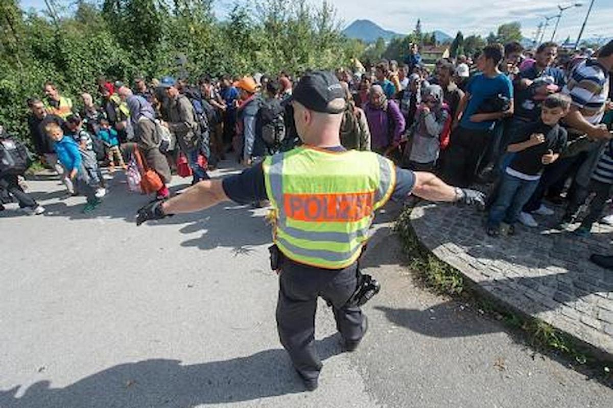 La Baviera respinge i rifugiati provenienti dall'Austria
