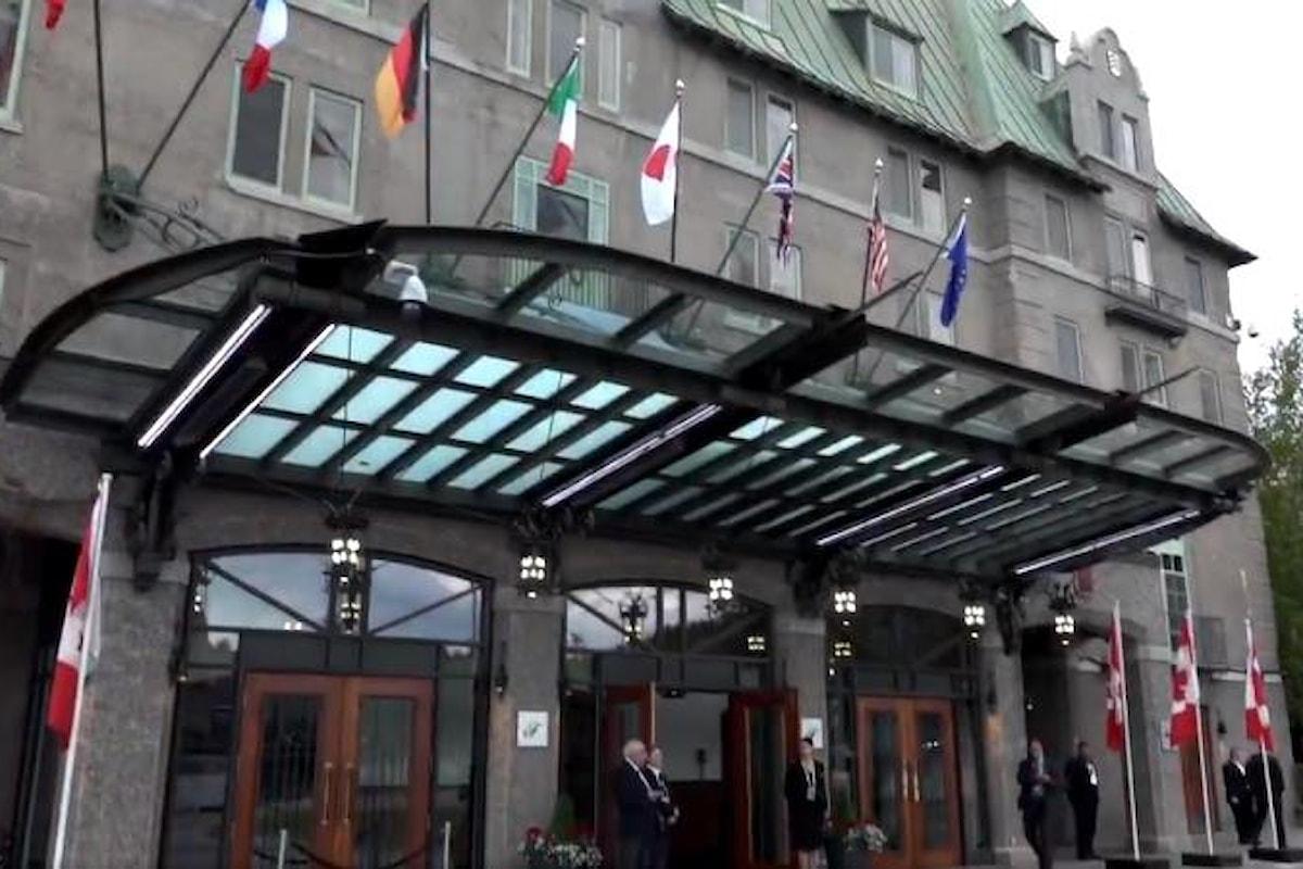 Il G7 in Canada? L'occasione per una bella litigata