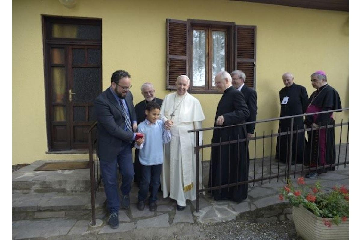 La visita pastorale di Papa Francesco a Nomadelfia