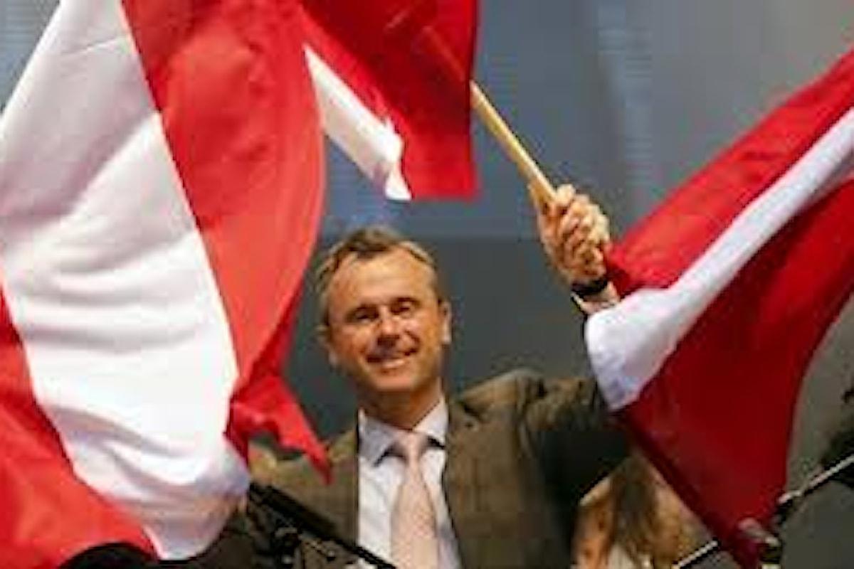 Nelle presidenziali austriache trionfa l'estrema destra che fu di Haider