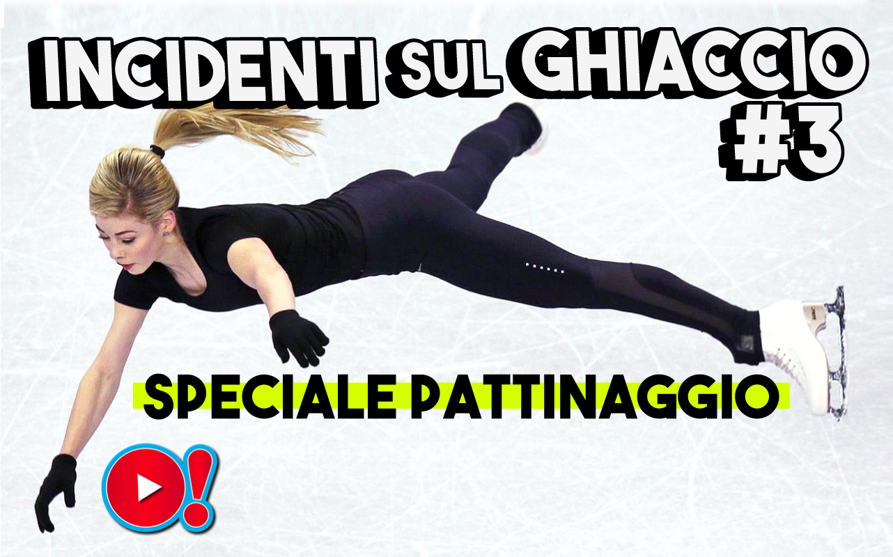 Incidenti divertenti sul ghiaccio - Speciale pattinaggio: la nuova compilation tutta da ridere è on line!