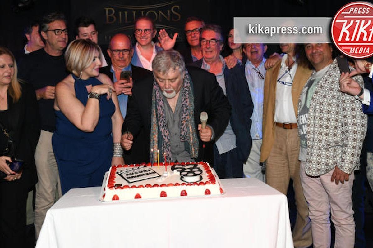 Super party vip per Maurizio Mattioli al Luxuria Game Billion di Roma