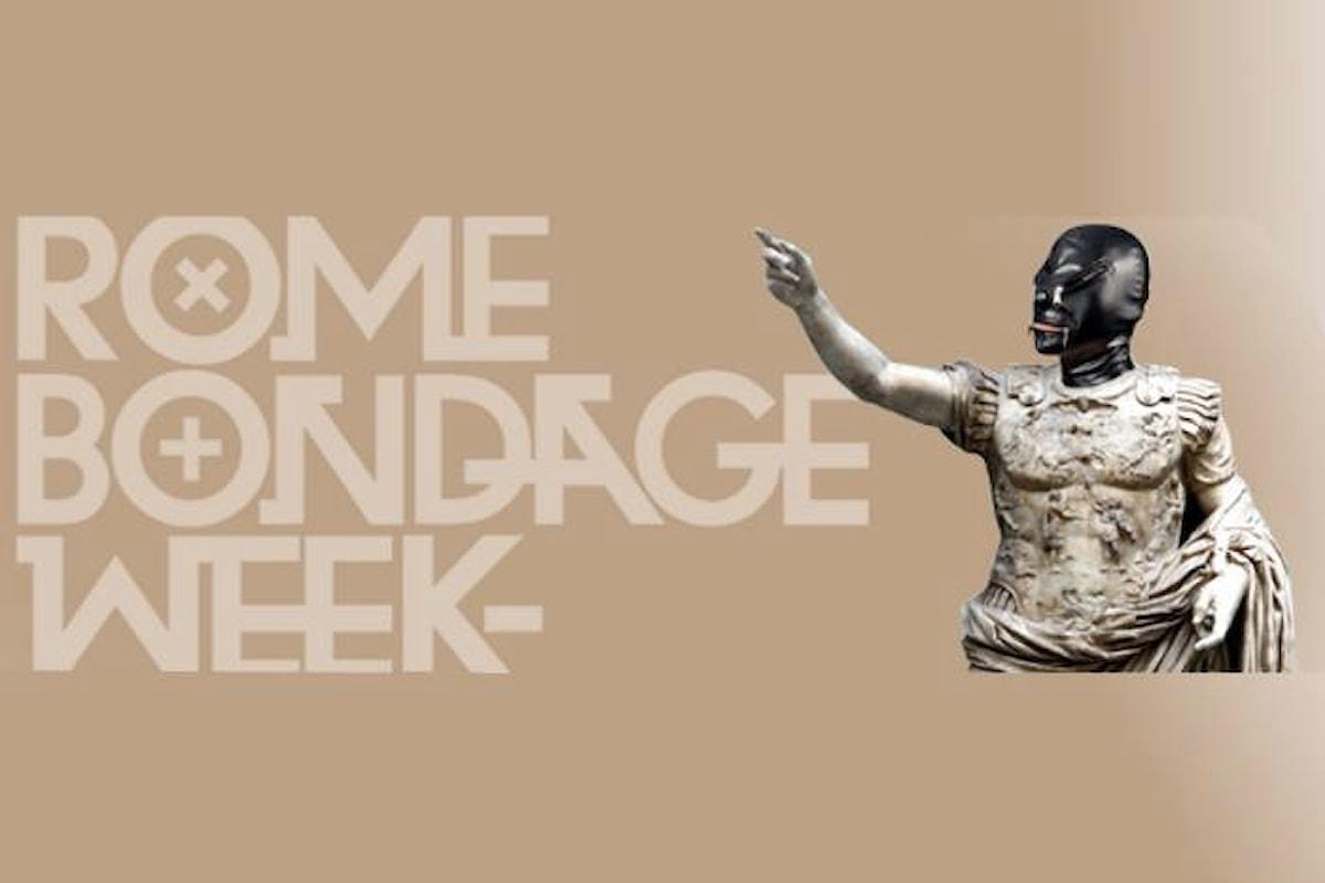 Rome Bondage Week. La prima settimana dedicata alla pratica erotica, con i massimi esponenti dall'Italia e dal Mondo