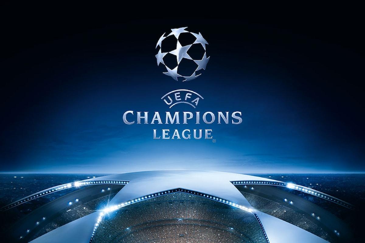 Il calendario delle partite di Champions League di mercoledì 27 settembre