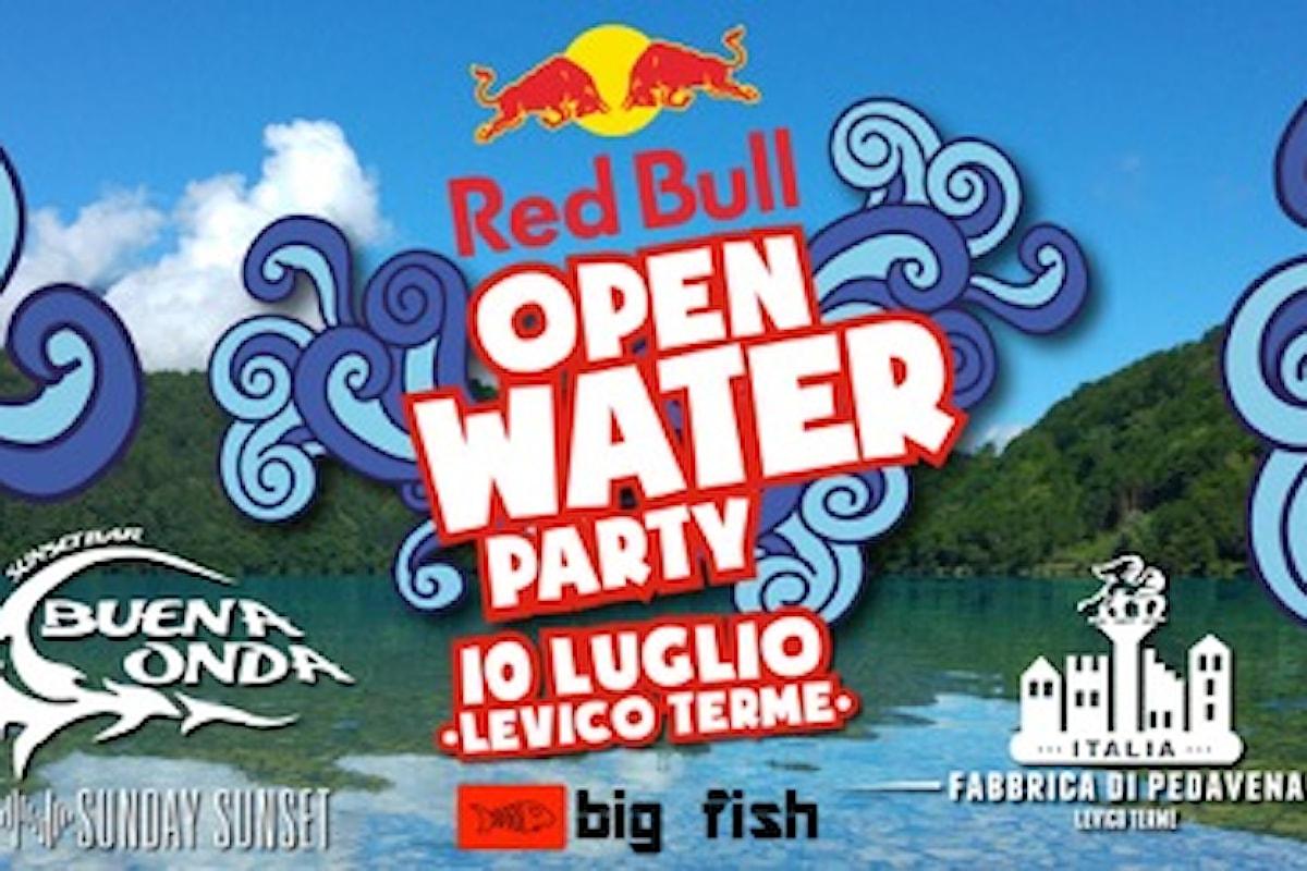 Red Bull Open Water Party al Lago di Levico (TN)