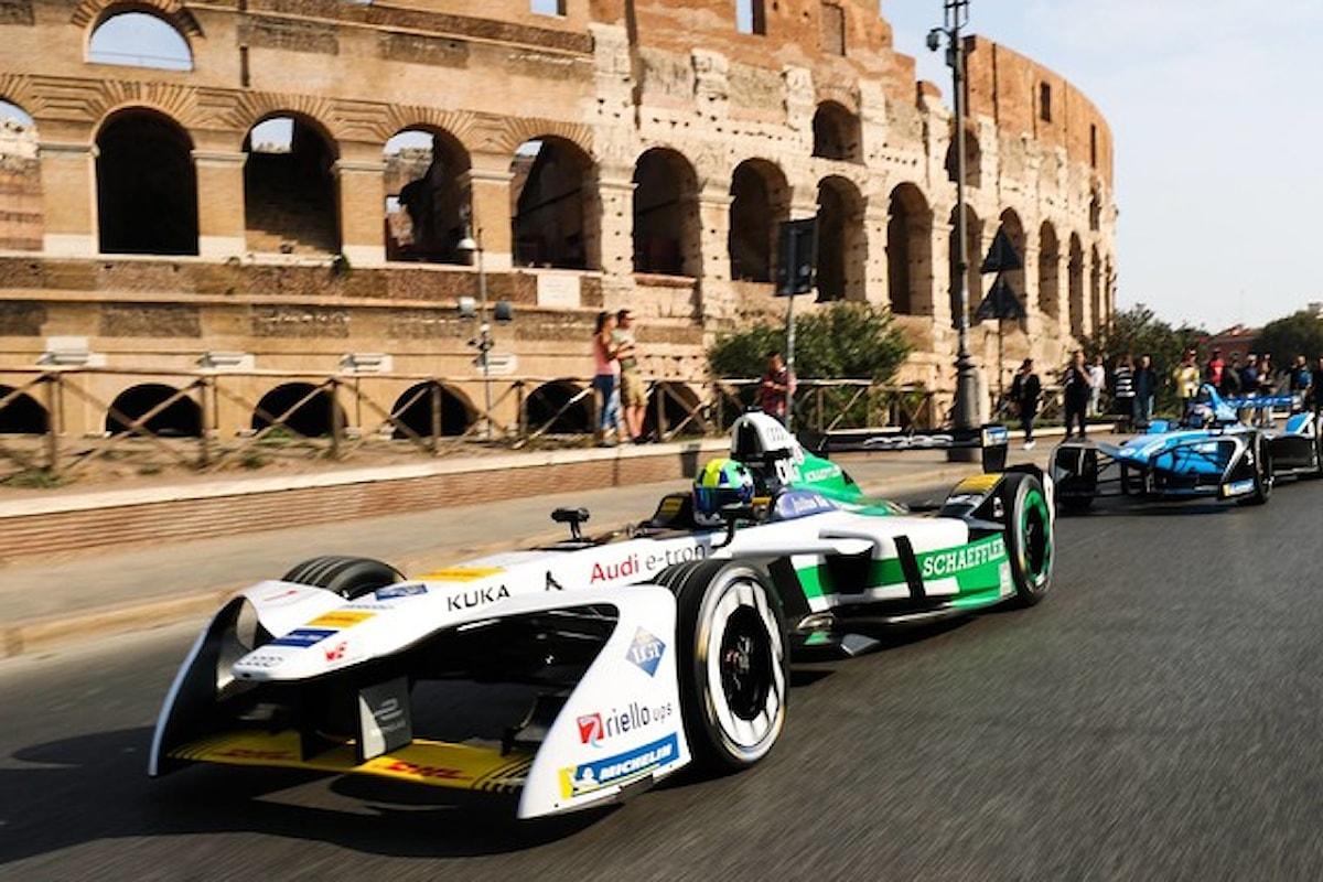 Formula E: a Roma vince Bird su Di Grassi e Lotterer