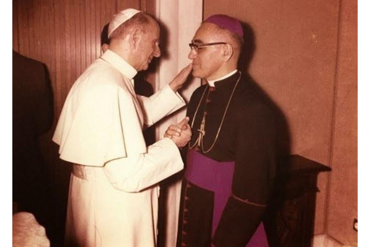 Il 14 ottobre 2018, Paolo VI e mons. Romero saranno santi insieme ad altri quattro beati