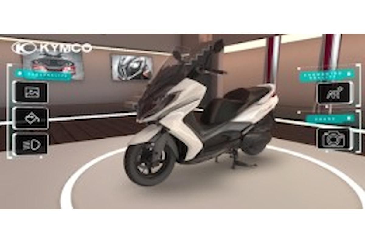 Personalizza la tua KYMCO con l'app in realtà virtuale e aumentata