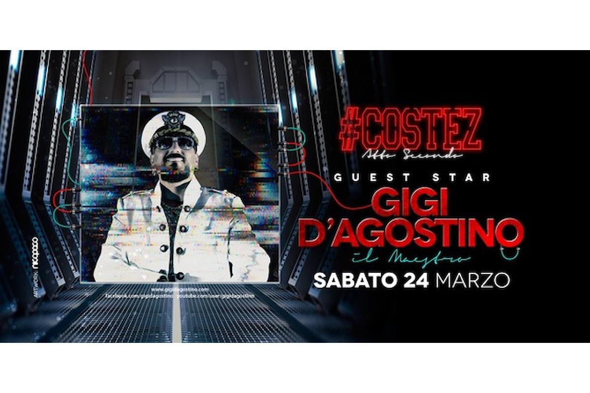 24 marzo, Gigi D'Agostino al Nikita #Costez di Telgate (BG). Gli altri party targati Costez...