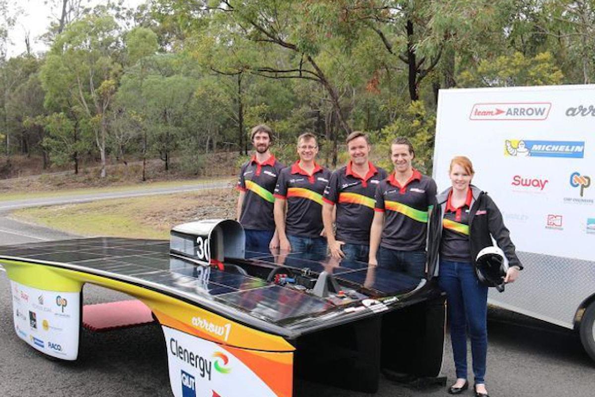 Le auto con pannelli solari stanno arrivando in Australia!