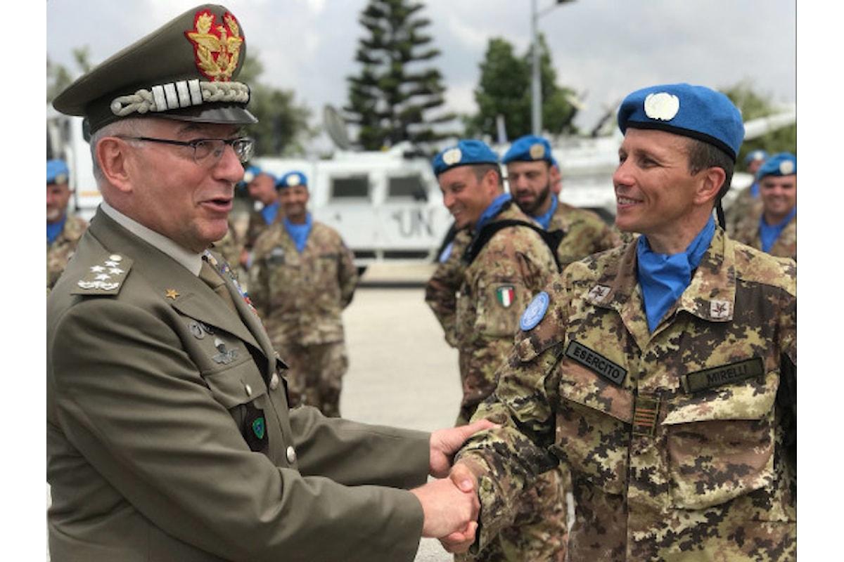 Il Generale Graziano dal Libano: I nostri militari sono i migliori soldati al mondo