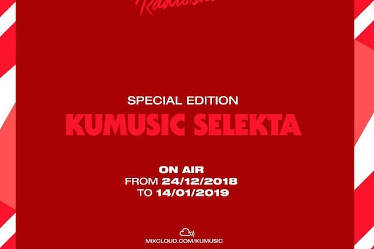 Kumusic Selekta fa ballare il mondo tra dicembre '18 e gennaio '19