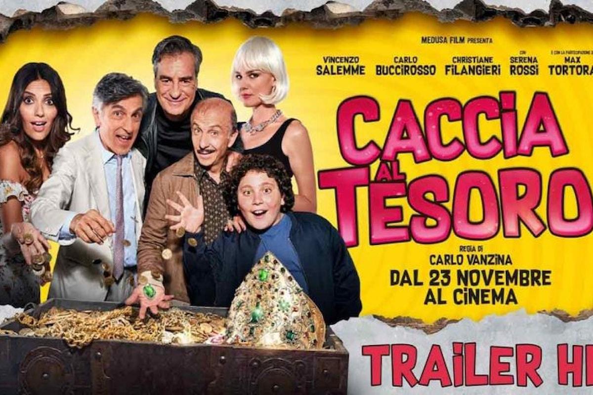 Vincenzo Salemme e la sua Caccia al Tesoro