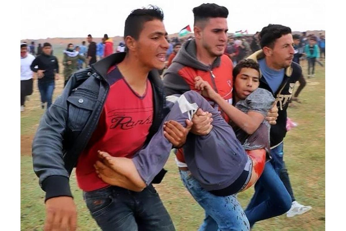 La Grande Marcia si trasforma in un grande massacro. Numerosi i palestinesi morti e centinaia quelli feriti al confine tra Gaza e Isralele