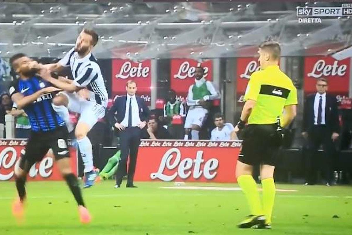 Duro commento dell'Inter all'arbitraggio di Orsato accusato di aver usato due pesi e due misure
