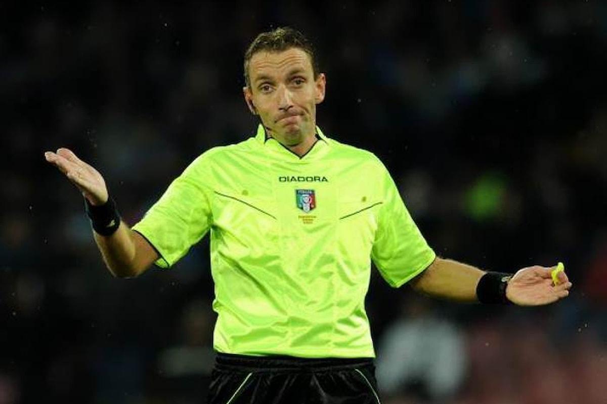 Ottima prova di Mazzoleni che a San Siro consente all'Inter di battere la Fiorentina per 2-1