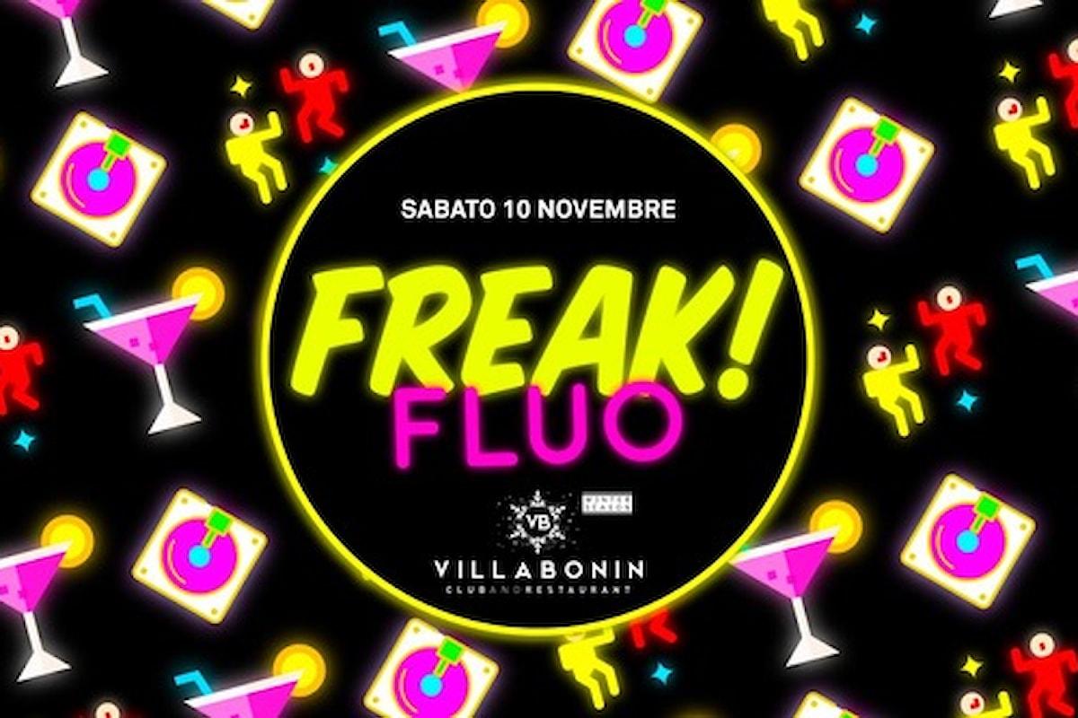 10 novembre, al Villa Bonin ci si scatena con Freak! Fluo