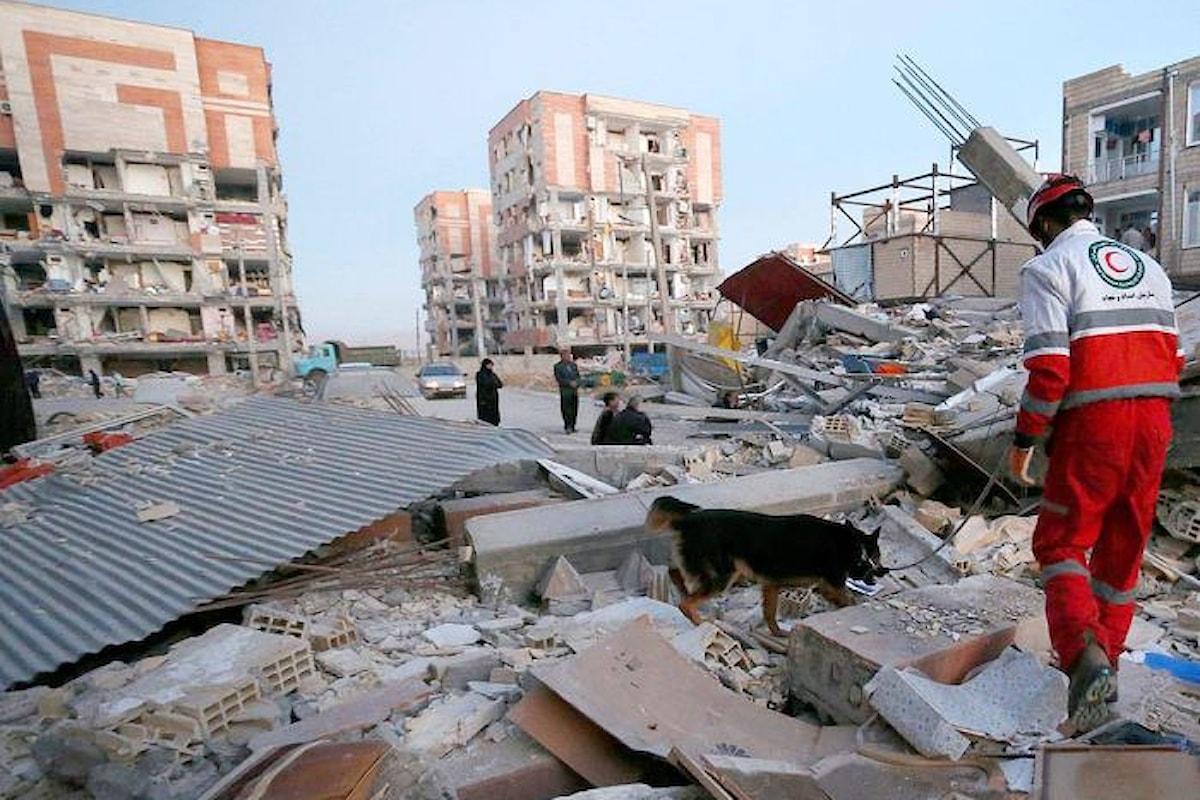 Oltre 500 le vittime e circa 7500 i feriti del terremoto che ha colpito Iran e Iraq