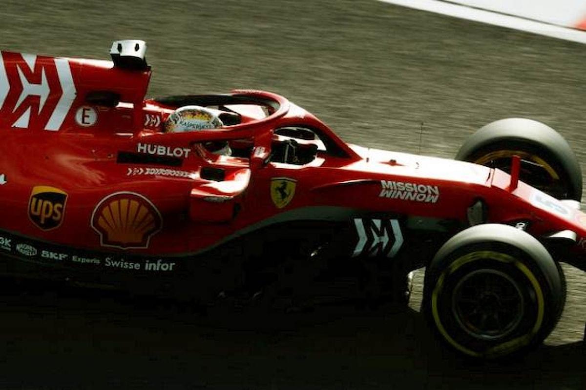 Formula 1, nelle libere di Austin assegnata una penalità a Vettel che partirà indietro di tre posizioni