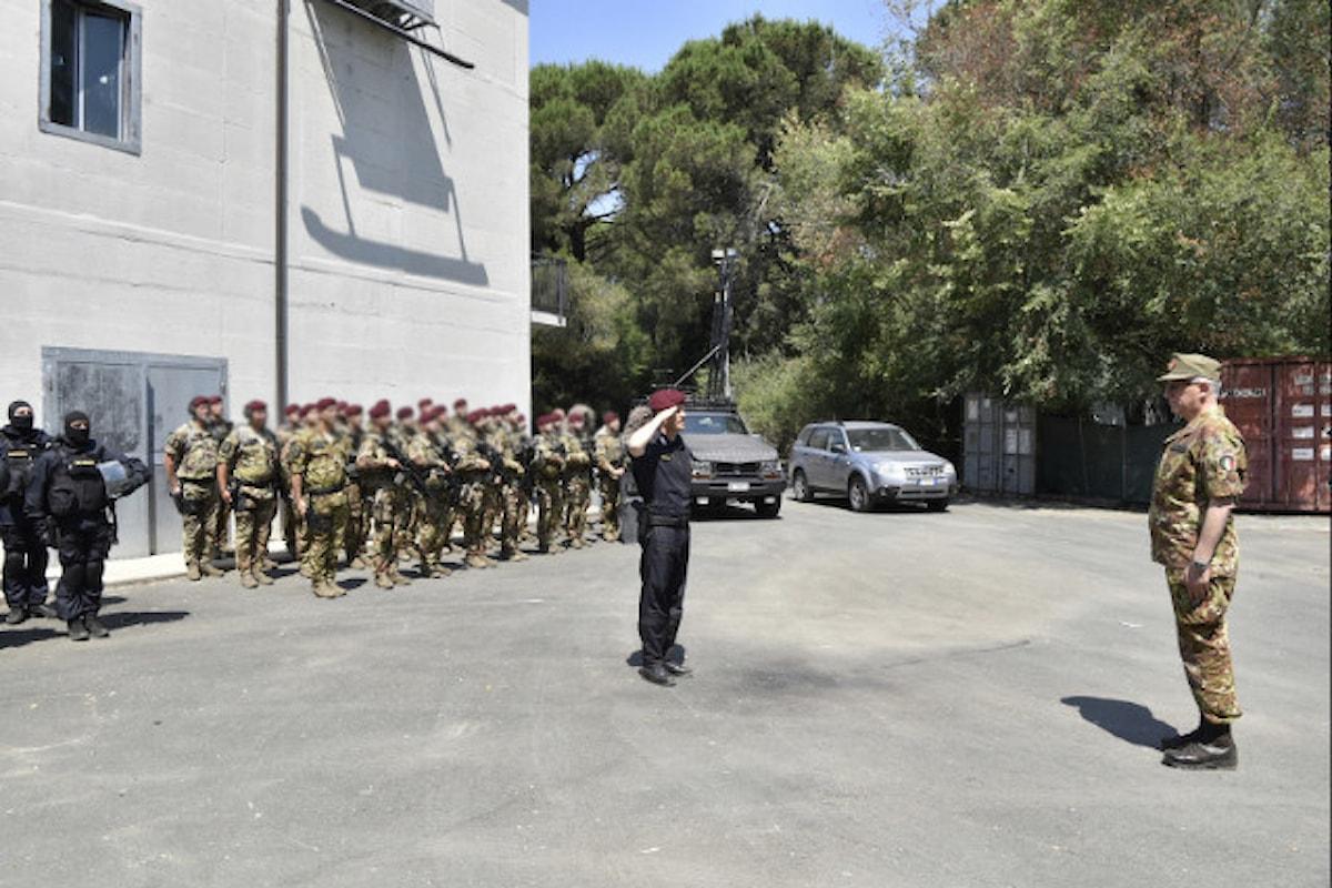 Livorno. Generale Graziano ai GIS e Tuscania: Sono orgoglioso da Comandante per ciò che siete